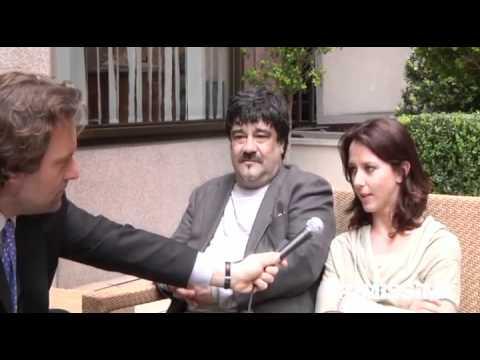 Intervista a Caterina Guzzanti e Francesco Pannofino protagonisti in Boris - Il film
