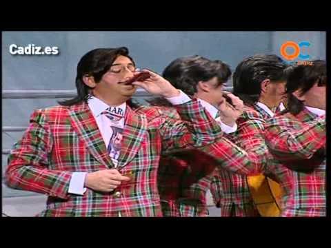 Sesión de Cuartos de final, la agrupación Pepe Trola actúa hoy en la modalidad de Chirigotas.