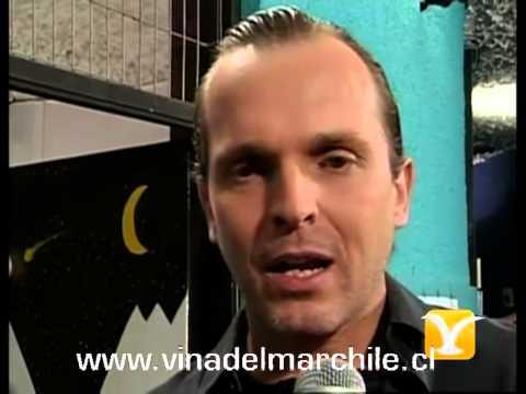 Backstage Miguel Bosé