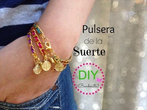 Pulsera De La Suerte Tutorial DIY
