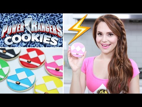 POWER RANGERS COOKIES - NERDY NUMMIES