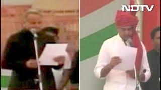 राजस्थान के मुख्यमंत्री के रूप में अशोक गहलोत ने ली शपथ - NDTVINDIA