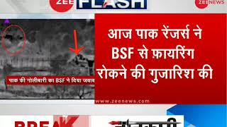 Breaking: Pakistani Rangers plead BSF to stop retaliatory firing after trooper's death - ZEENEWS