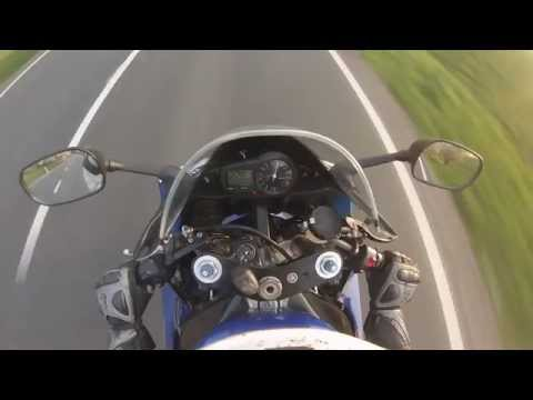 Yamaha YZF-R1 00' acceleratio 50-2xx on 6th gear