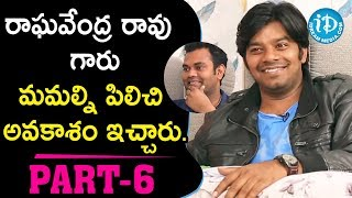 Jabardasth Sudigali Sudheer & Ram Prasad Exclusive Interview Part #6 || Talking Movies With iDream - IDREAMMOVIES