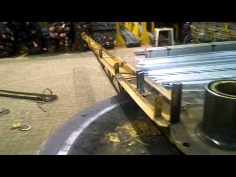 Máquina de dobrar vergalhões Arcelor Mittal