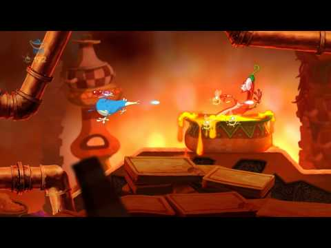Rayman Origins (PC) Demo Gameplay