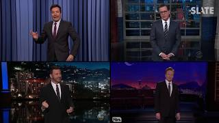 The Hidden Formula Behind Almost Every Joke on Late Night - SLATESTER