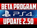 PS4 Starts Beta Testing Program ▶ Suspend / Resume Coming in 2.50 Firmware Update