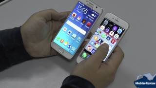 Сравнение Samsung Galaxy S6 и Apple iPhone 6