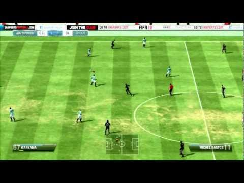 FIFA13 Gameplay Celtic Vs. Lyon - Fifaallstars.com