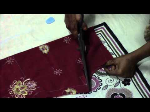 Punjabi Suit Tutorial   Salwaar Cutting