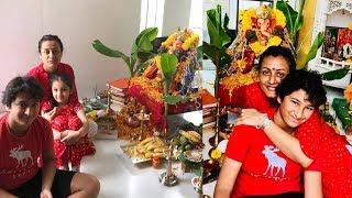 Mahesh Babu Family Vinayaka Chavithi Pooja Celebrations Photos - RAJSHRITELUGU