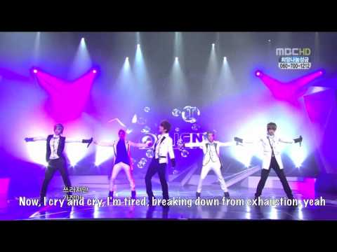 Intro + Cry + Stay (Jan 15, 2011) Eng Sub