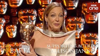 Allison Janney wins Supporting Actress - The British Academy Film Awards: 2018 - BBC One - BBC