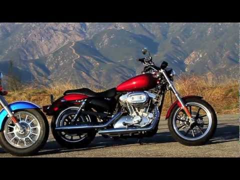 2012 Harley-Davidson Sportster SuperLow vs. Triumph America