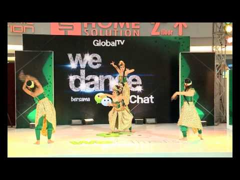Performance MAHASIWA - WeDance bersama WeChat Part 1