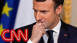 French president urges Trump to honor Iran nuclear deal - CNN