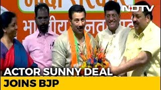 Actor Sunny Deol Joins BJP - NDTV