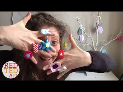 Crafty Vlog & Easy DIY Rings