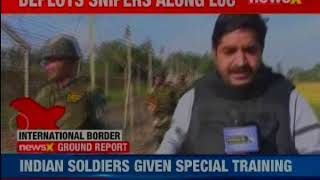 Newsx Exclusive: Pak changes terror tactis, Deploys snipers along LOC - NEWSXLIVE