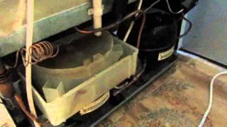 Ремонт холодильника Атлант - день 1, осмотр