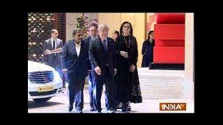 Nita Ambani hosts grand party for IOC president Thomas Bach; Tendulkar, Aamir in attendance - INDIATV