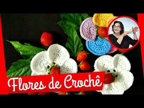 CROCHE AULA FLOR MODELO 036 PARTE 1/2