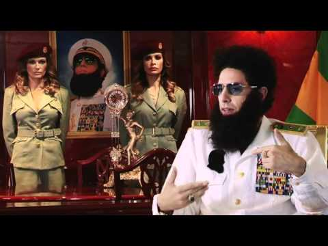 The Dictator Sacha Baron Cohen with Fitzy and Wippa UNCUT