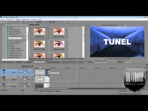 Tutorial Sony Vegas Pro 11 (Como hacer un intro 3d) 3d Room, Cuarto 3D