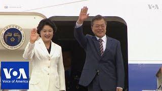 South Korea's Moon heads to Washington - VOAVIDEO