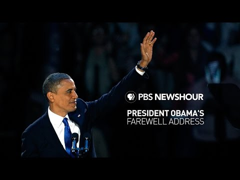 Watch Live: President Obama's farewell address