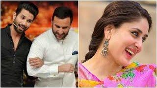 Kareena Likes Saif's Look Over Shahid's Look | Kareena's Movie Shoot To Roll In May