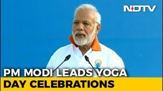 PM Modi Addresses Thousands In Dehradun On Yoga Day - NDTV