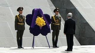 مراسم الذكرى المئوية لإبادة الأرمن