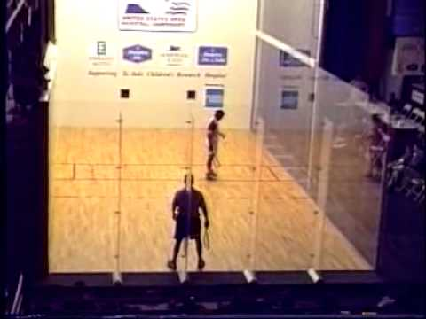 Marty Hogan vs Sudsy Monchik - 1997 US Open Racquetball Championships
