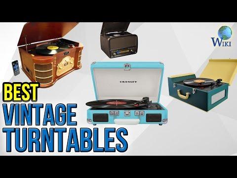 9 Best Vintage Turntables 2017