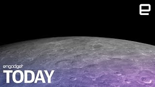 Water ice discovered on the moon's surface | Engadget Today - ENGADGET