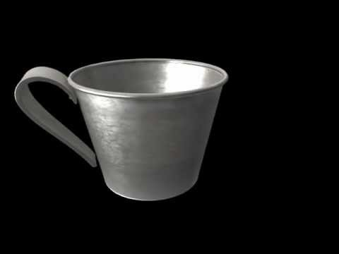 From Paper To Iron Civil War Exhibit: Tin Drinking Cup
