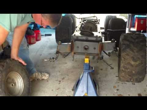 Front tires and tranny linkage