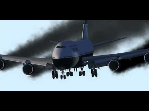 Boeing 747 Crash. Cargo Plane accident in Afghanistan.
