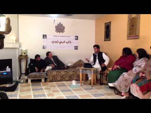 FIRST TAQDEES-E-ADAB MUSHAIRA 2012 PART-10........ ADEEL ZAIDI SAHIB (CHIEF GUEST)