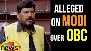 Ramdas Athawale Says Narendra Modi led Government as Anti-Reservation | Rajya Sabha Updates - MANGONEWS