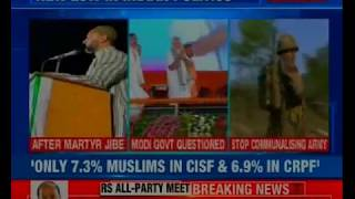 Minority affairs minister slams Owaisi, hits back for polarising forces - NEWSXLIVE