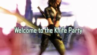 Royalty Free :Welcome to the Knife Party