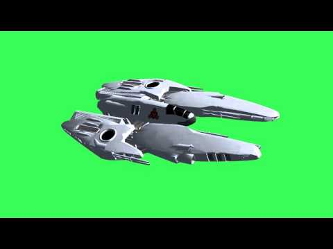 """Ufo Spacecraft"" free green screen effects"