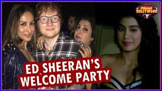 Malaika, Mouni, Rajkummar & Others Attend Farah's Ed Sheeran Welcome Party | Bollywood News - ZOOMDEKHO