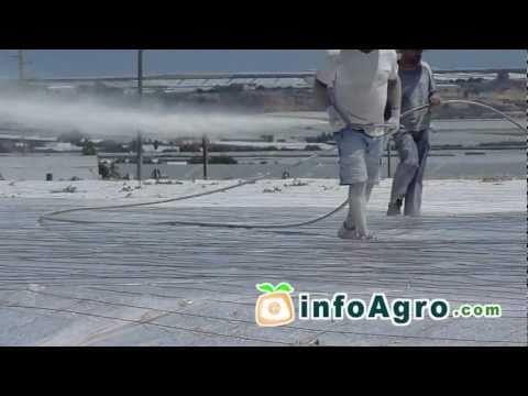 Blanqueo de invernaderos (método de sombreo)