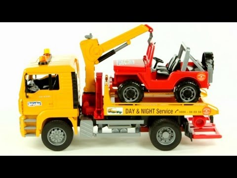 MAN TGA Breakdown Tow Truck with Cross Country Vehicle