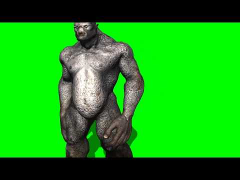 Troll walk - green screen effects